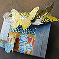 Version scrap challenge 4 recyclage ( tuto en cadeau )