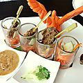 Déjeuner asiatique au nikko - brickell