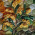 livre textile mimosas2