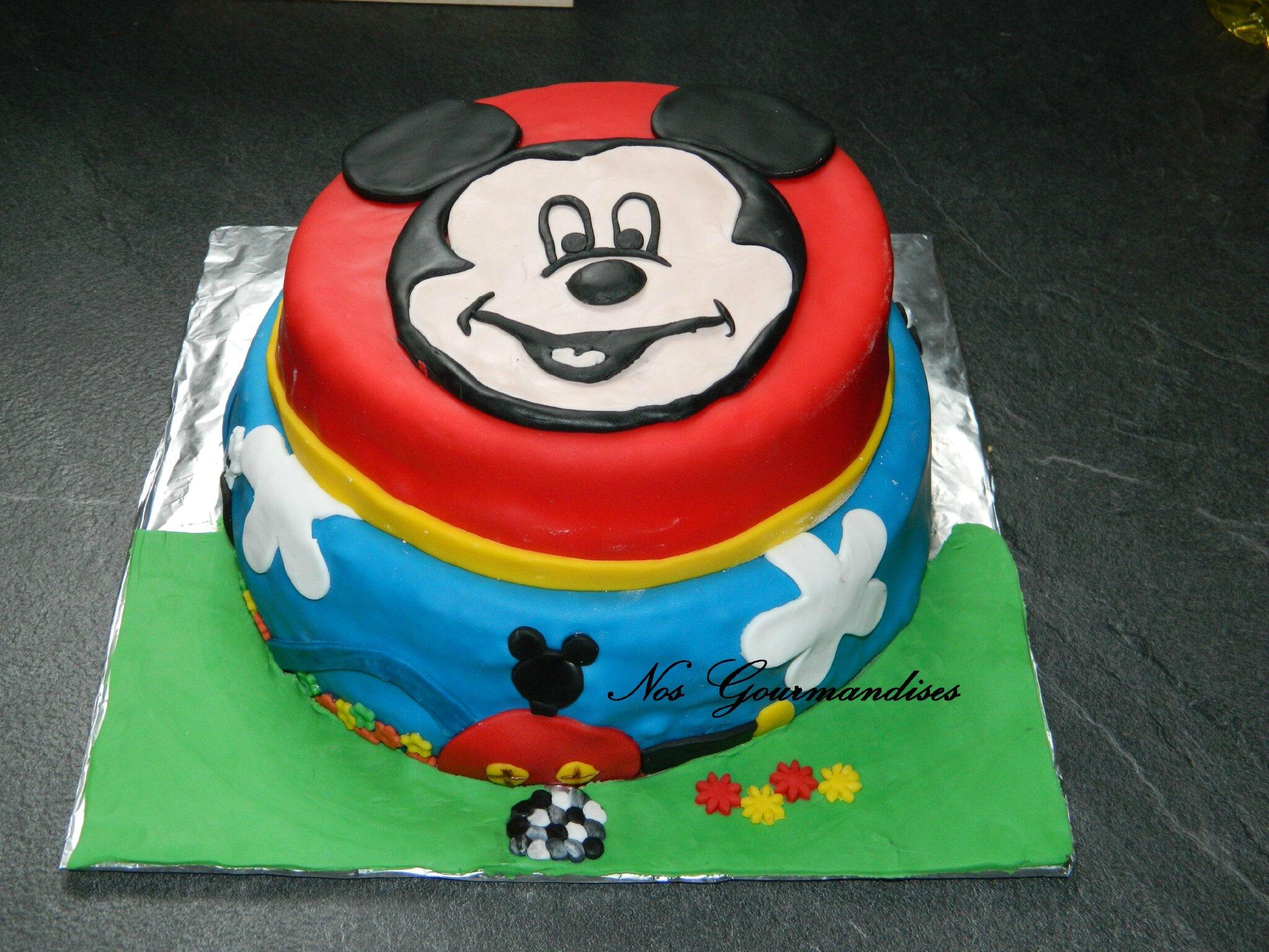 Préférence Gâteau Mickey ! - Nos Gourmandises ZV07