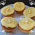 Cupcakes citronnés