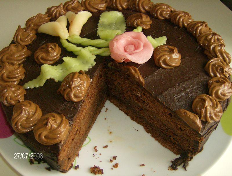 G teau mousse au chocolat cuisine en partage for Cuisine zahra