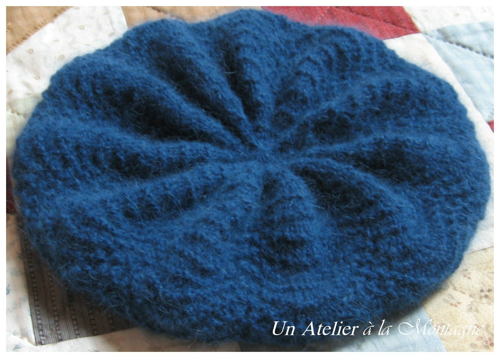 Feather & Fan Slouchy Béret 2