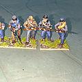 Guerre de sécession , mes premiéres figurines 28 mm