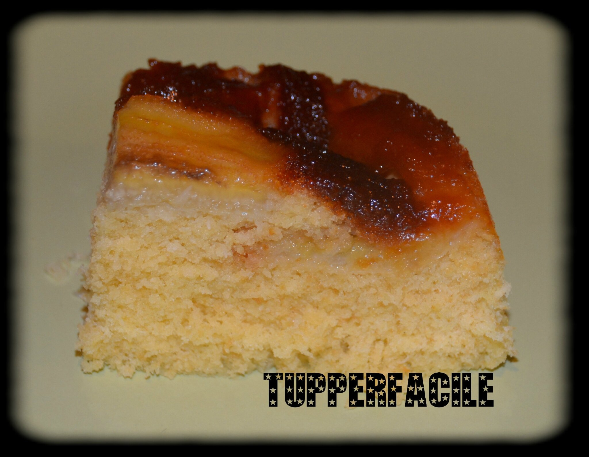 Recette Microcook Tup Cake
