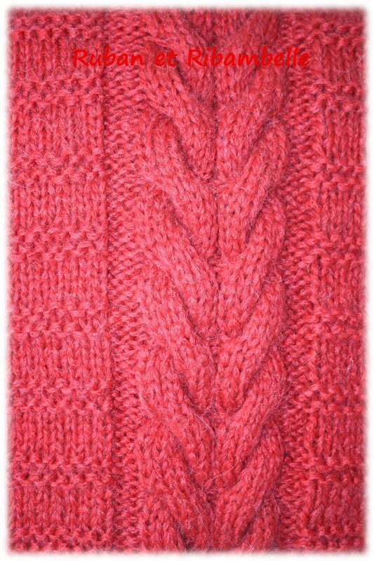 Coussin tricot 3