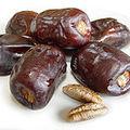 P'tits gâteaux de semoule aux raisins secs et aux dattes