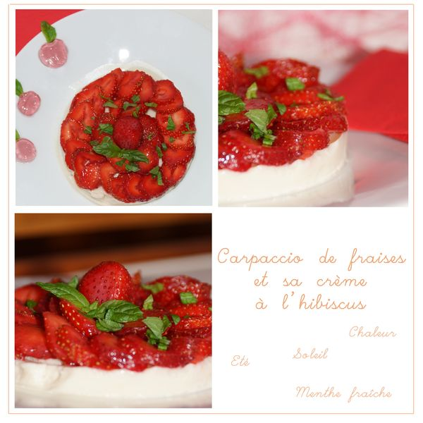 Carapccio de fraises 2 copie