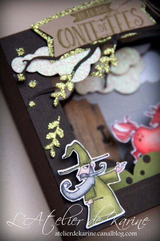Carte Diorama Conte de Fées 14