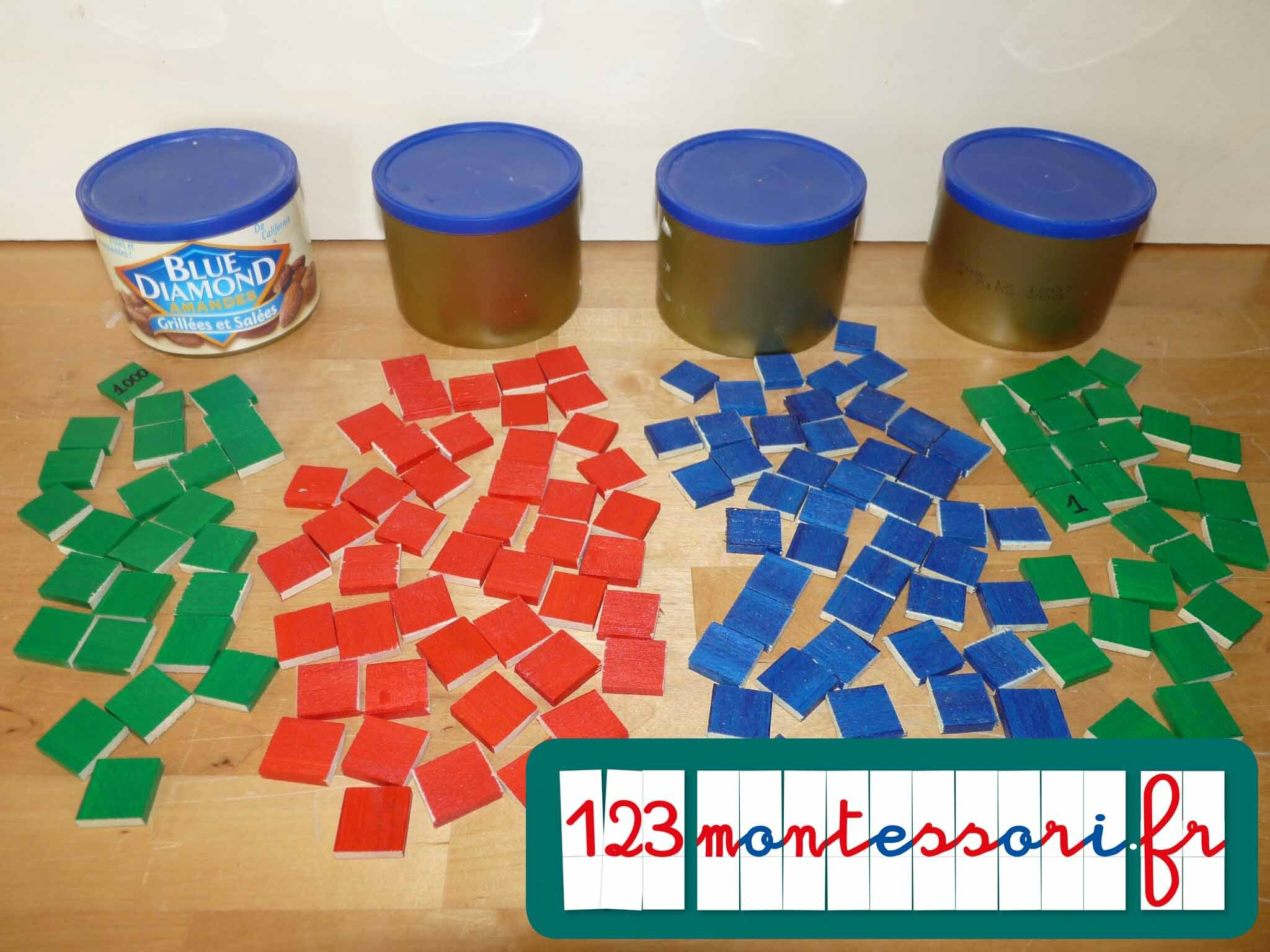 Bevorzugt Fabrication du jeu de timbres - 123Montessori, le blog AN95
