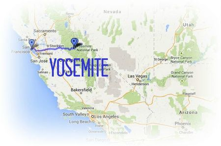 Road Trip USA-Ouest américain juillet 2013 - etape 2 YOSEMITE chez Gloewen et Scrat