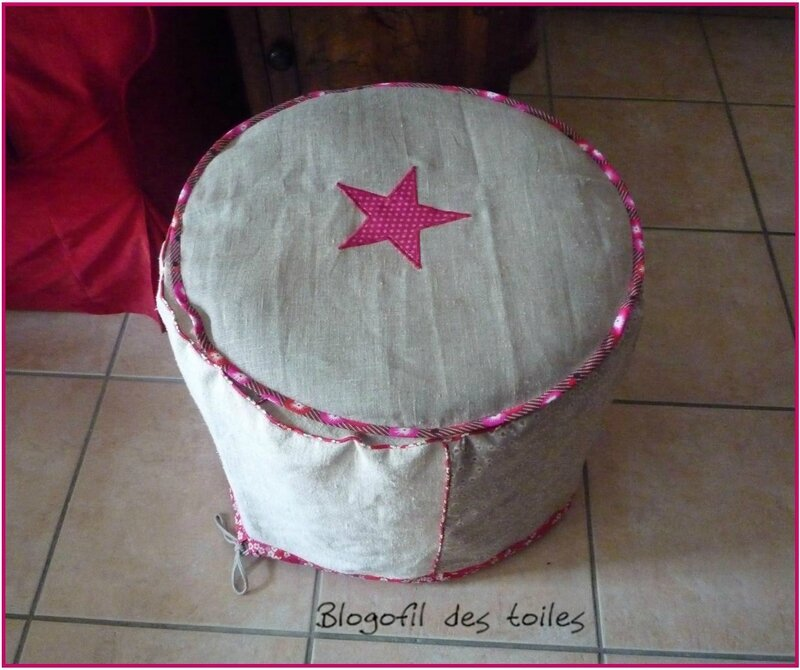 POUF COUSSIN ROND