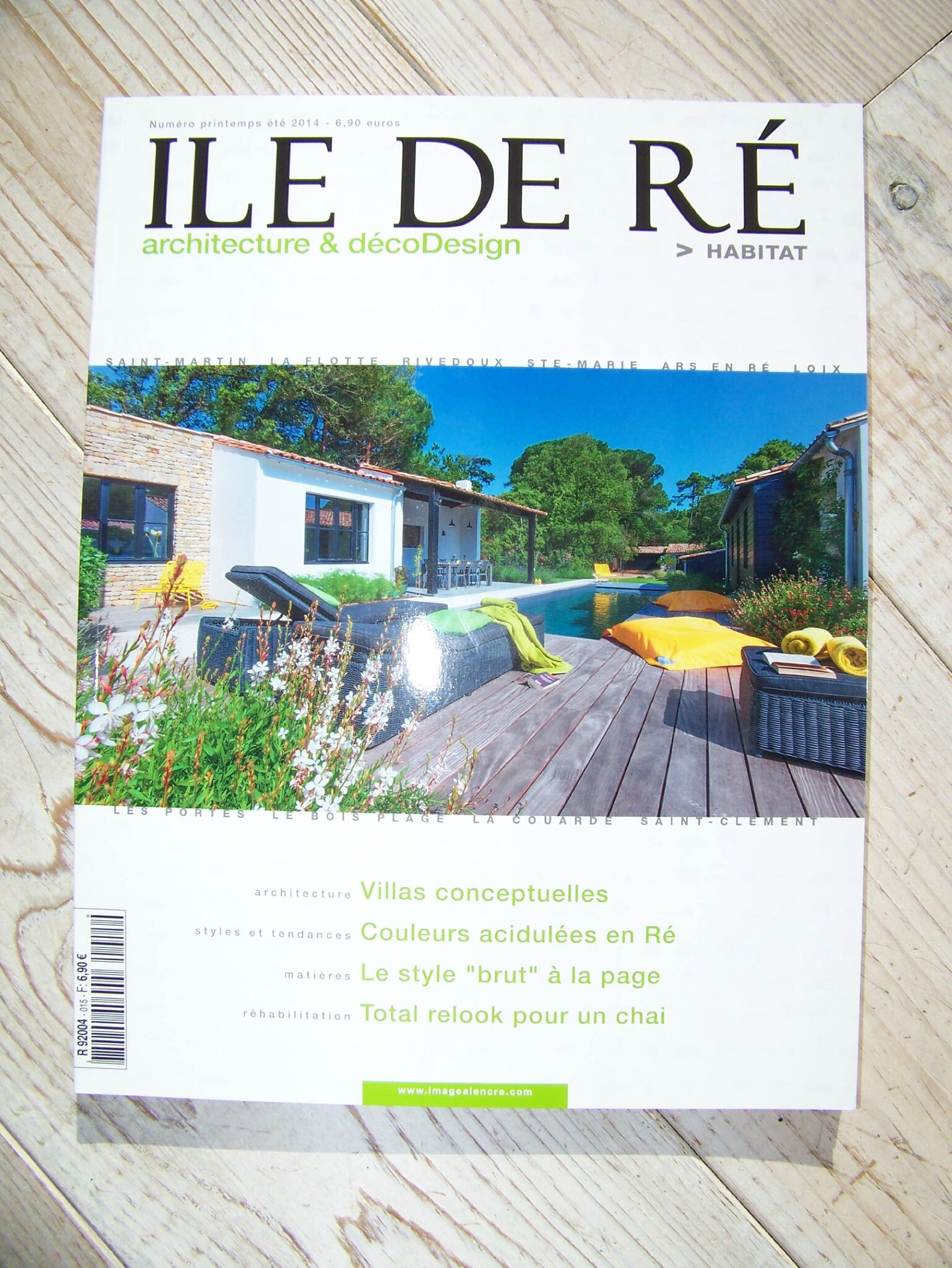 Magazine ile de r habitat 2014 love home - Decoration ile de re ...