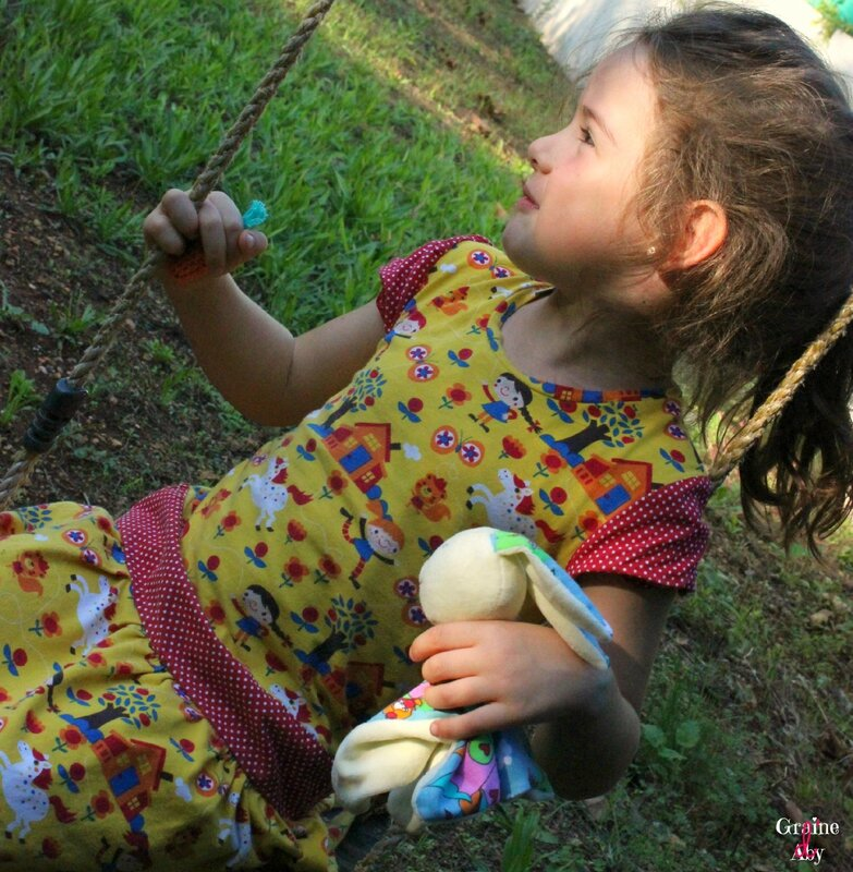 Doudou lapin Poulette 3
