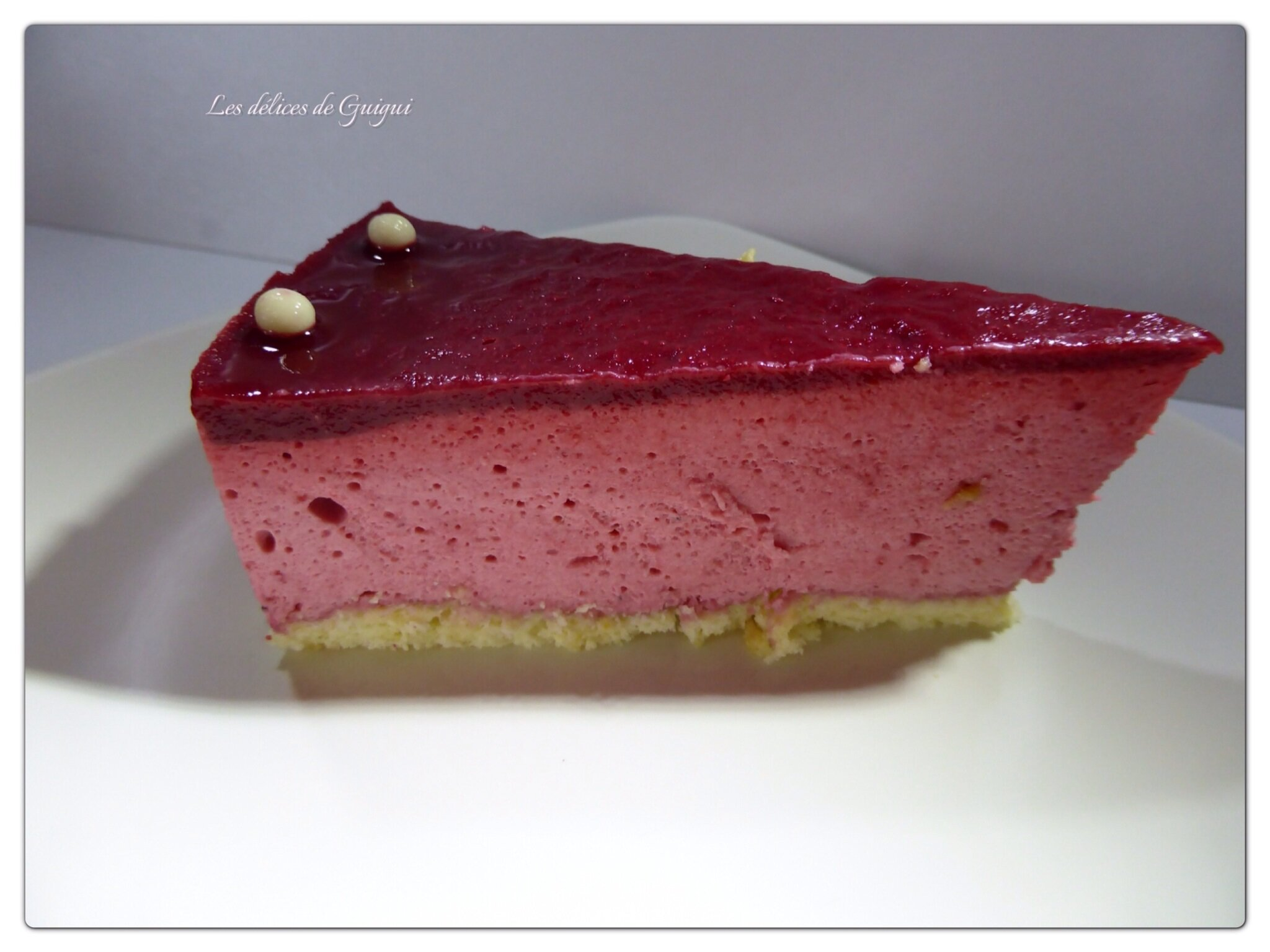 Gateau mousse aux fruits thermomix