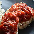 Filet de poisson,sauce épicée (allégé)