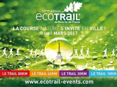 Affiche EcoTrail 2017