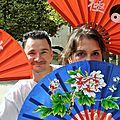 Démonstration de taï chi par les 100 pas, pour la journée du patrimoine du 19 septembre