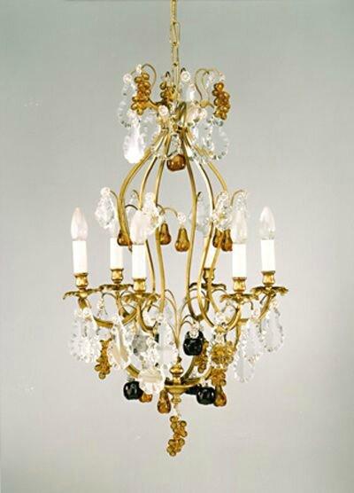 le lustre que bacchus aime lustre avec des grappes de. Black Bedroom Furniture Sets. Home Design Ideas