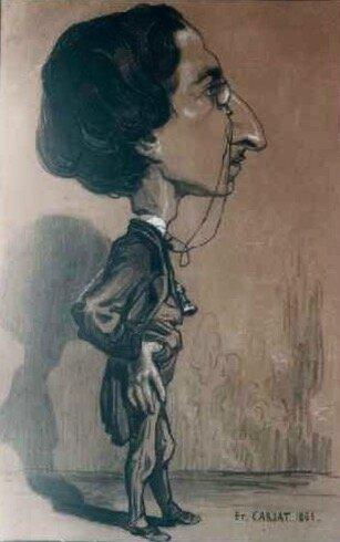 Henry Castel caricature 1883