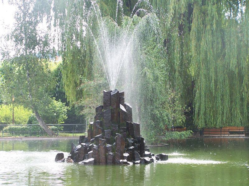 Lavoirs et fontaines du puy en velay les fontaines et for Le jardin henri vinay