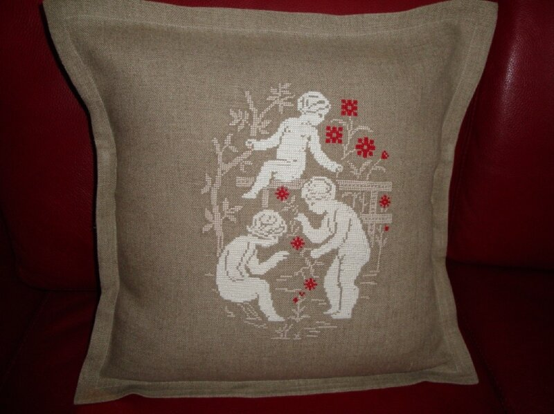 coussin anges