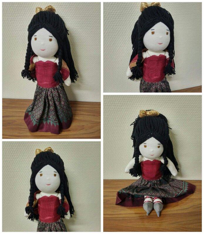 poupée pour Marianne