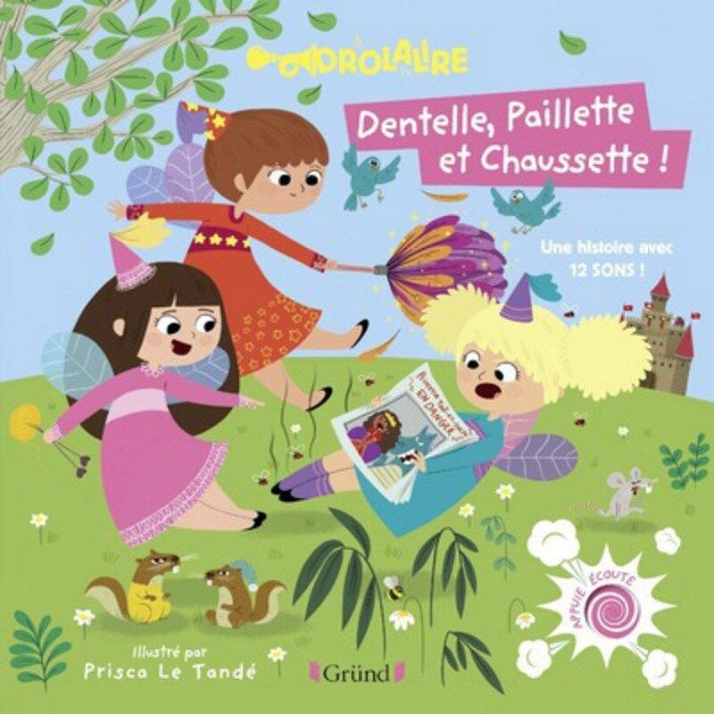 Dentelle Paillette Chaussette