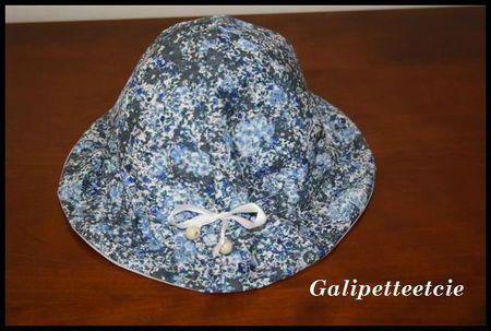 Chapeau cloche Mademoiselle