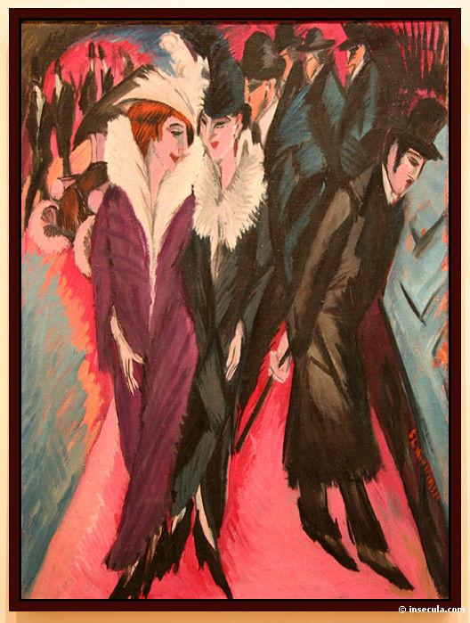 Ernst Ludwig Kirchner, Rue de Berlin, 1913