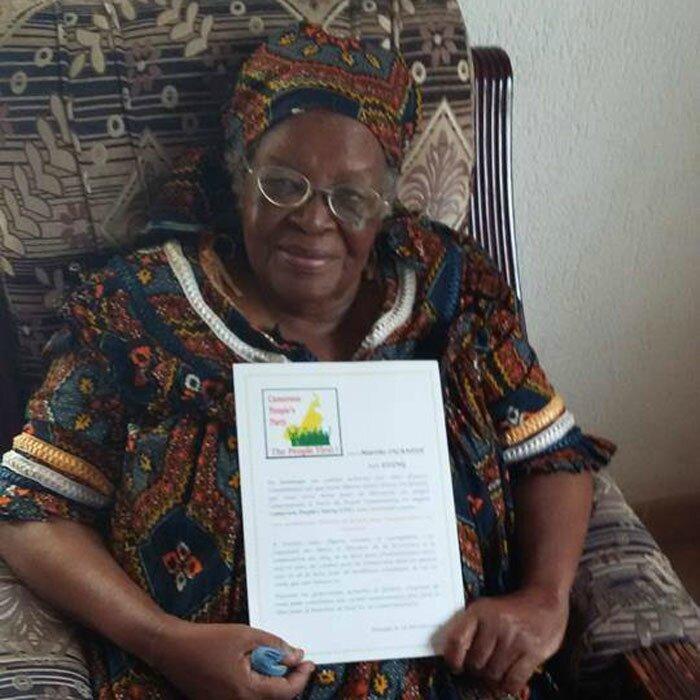 Marthe Eding, veuve d'Ernest Ouandie n'est plus: les hommages des associations de la diaspora camerounaise de Belgique