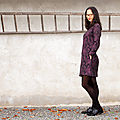 La robe raglan - défi jacquard