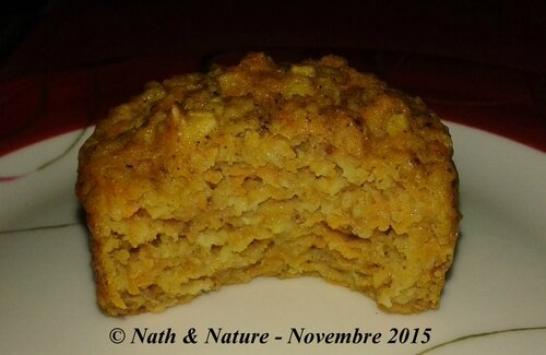 Muffins butternut - 4 épices - Intérieur moelleux