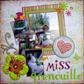 Miss grenouille