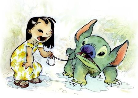Chris Sanders - Lilo & Stitch 02
