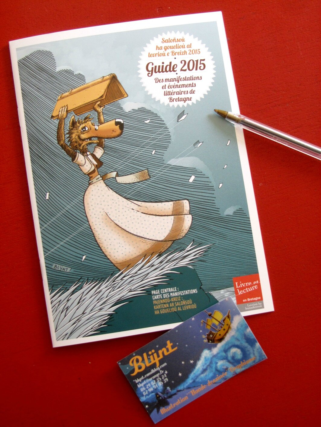 LA COUVERTURE du GUIDE 2015 !