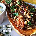 Courge butternut farcie au quinoa