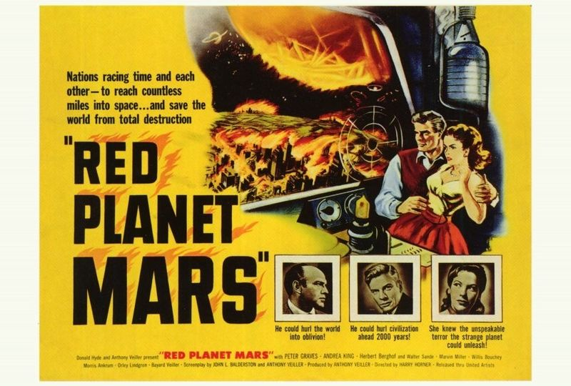 red planet mars 1954 - photo #33