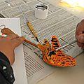Un atelier de création cuillères en école