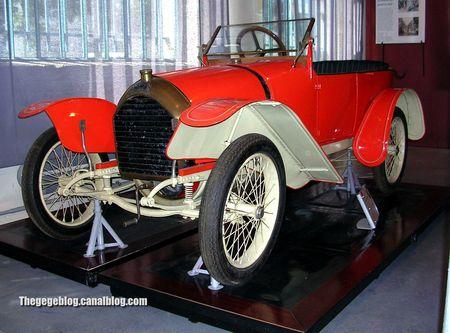 Peugeot type BB de 1913 (Musée Chatellerault) 01