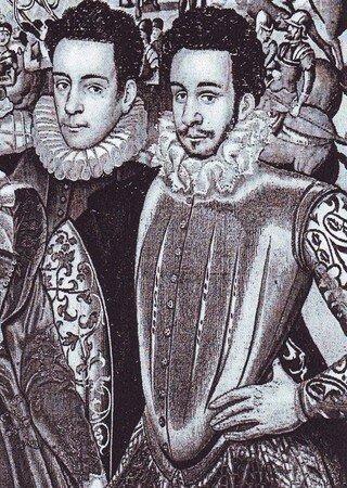 François d'Anjou, extrait de la tapisserie des Valois, musée des Offices