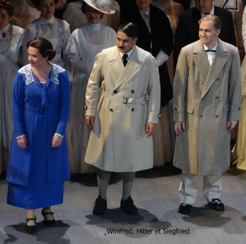 Winifred Hitler et Siegfried