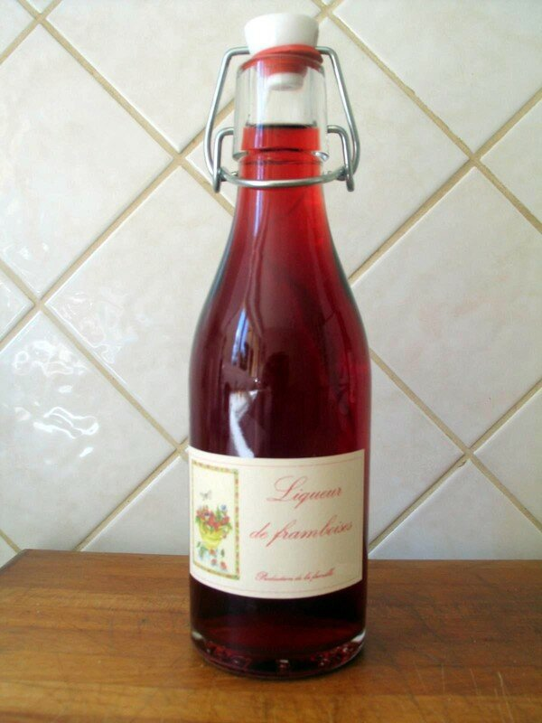 framboises l 39 alcool papa et maman brodent