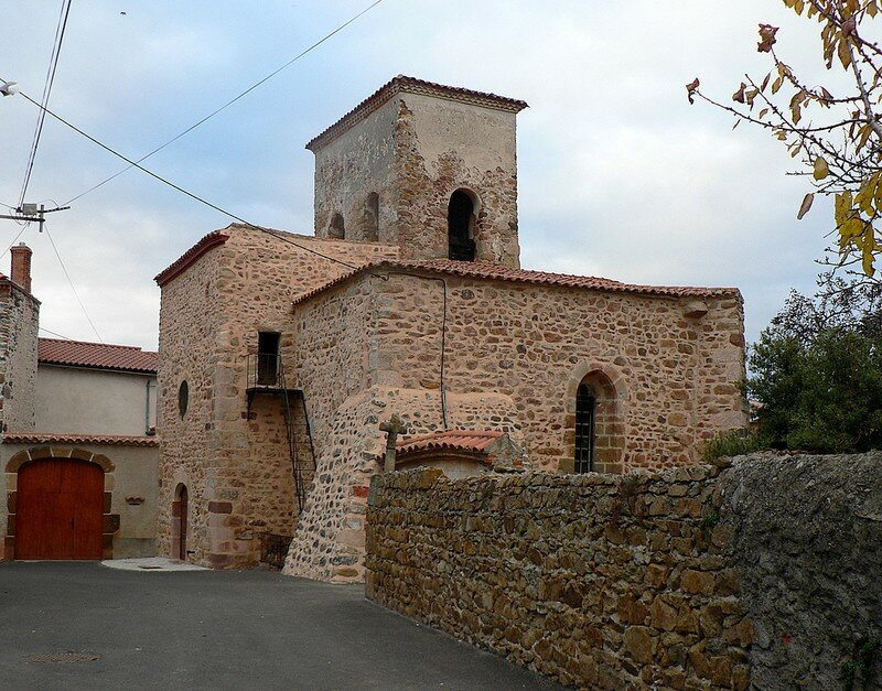 église de Madriat