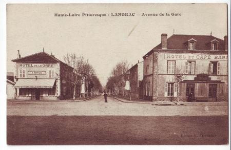 43 - LANGEAC - Avenue de la gare