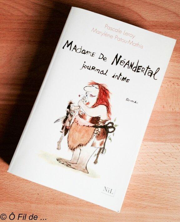 Mme de Néandertal, journal intime