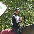 balade à cheval médiévale - Abbaye de Hambye (48)