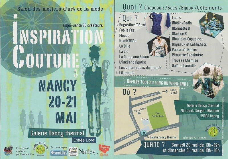 flyer Inspiration Couture Nancy