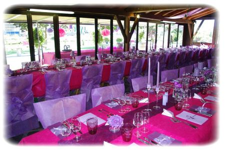 La f te fut belle a table c t d co - Decoration de table pour anniversaire 50 ans ...