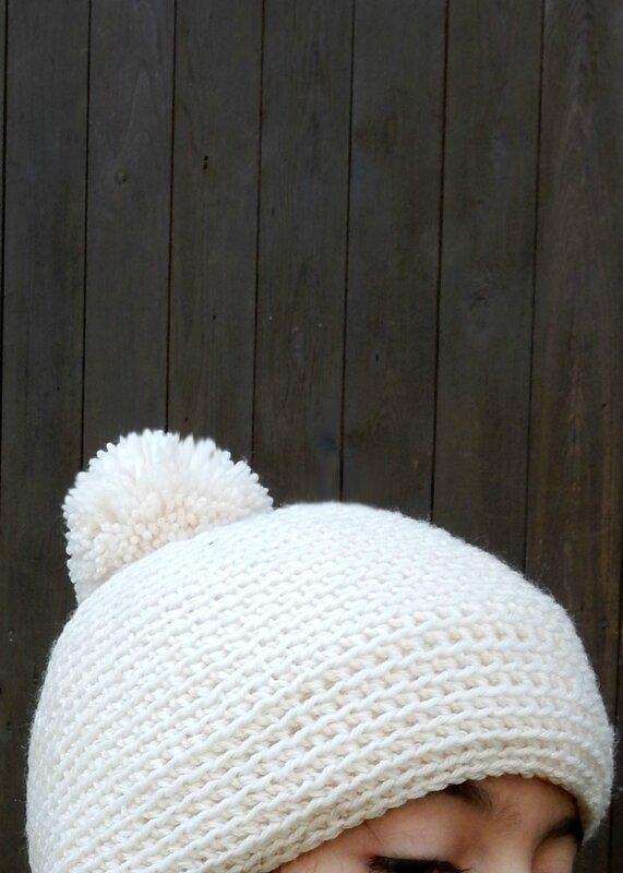 bonnet blanc - Anisbee